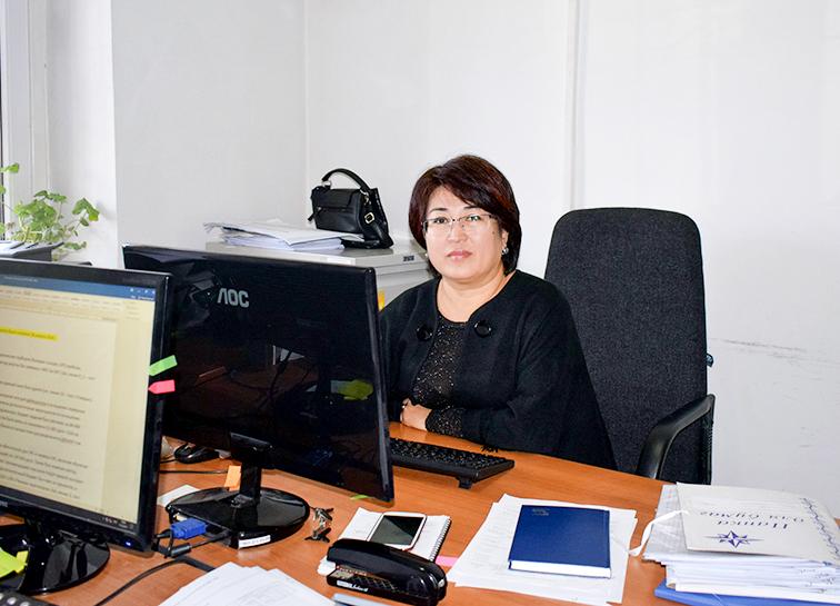 Иманкулова Гульгун Самаркуловна