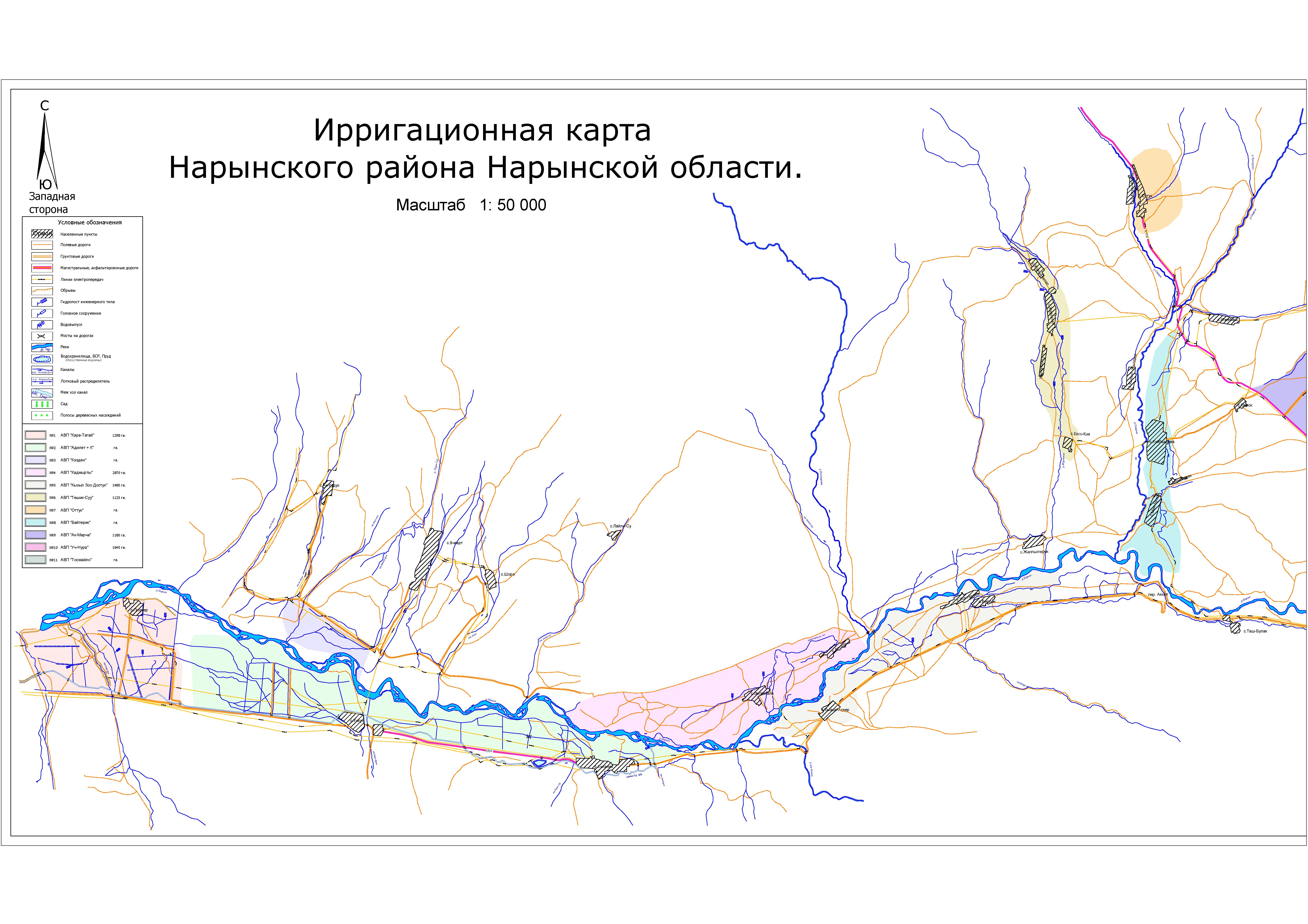 Нарынский район-Западная сторона