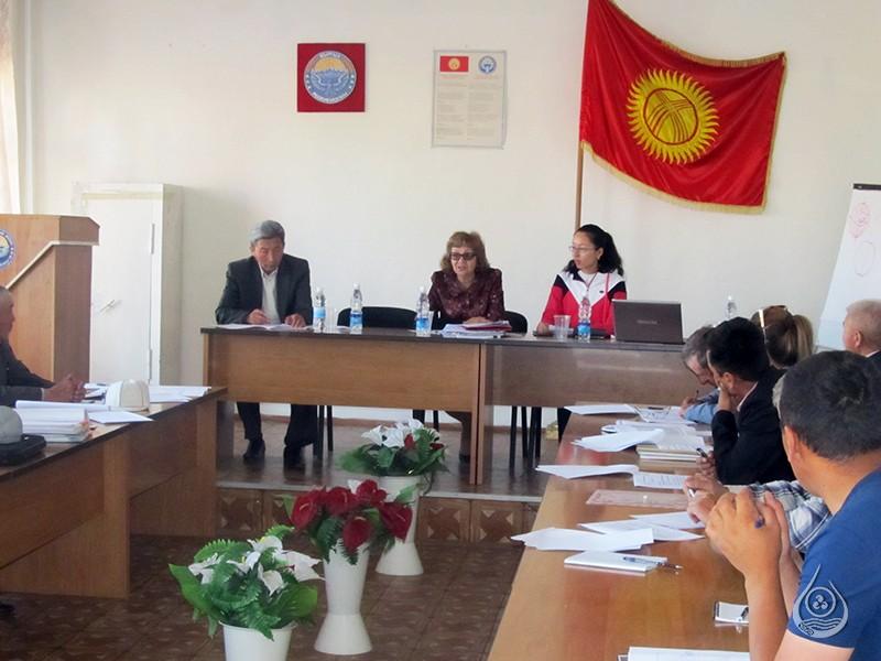 Рабочая встреча в Иссык-Кульском БУВХ 2 июня 2016г.