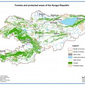 Forest and protected areas of the Kyrgyz Republic