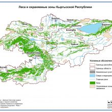 Леса и охраняемые зоны Кыргызской Республики