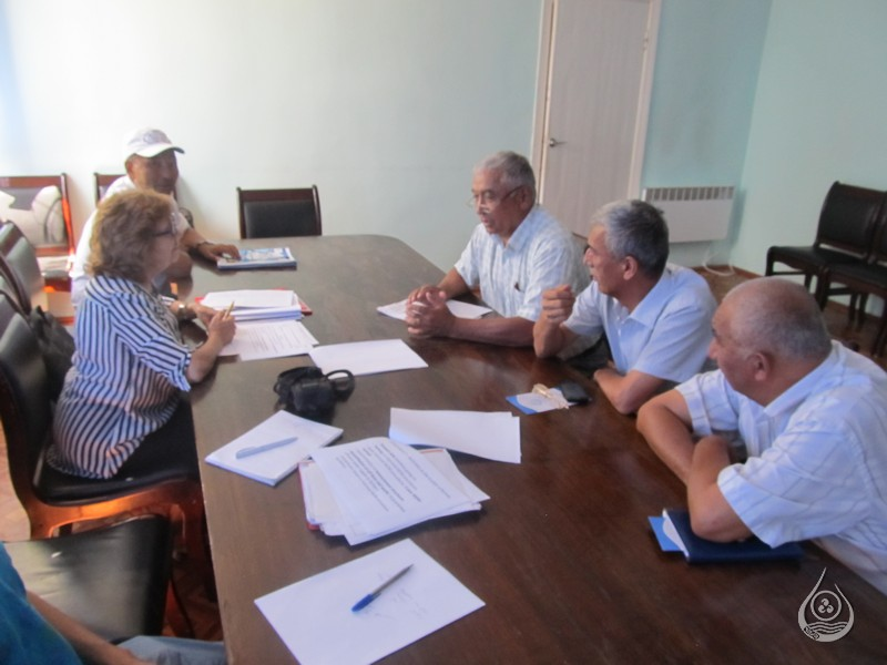 Сотрудники Жалал-Абадского БУВХ | 18-21 июля 2016г.