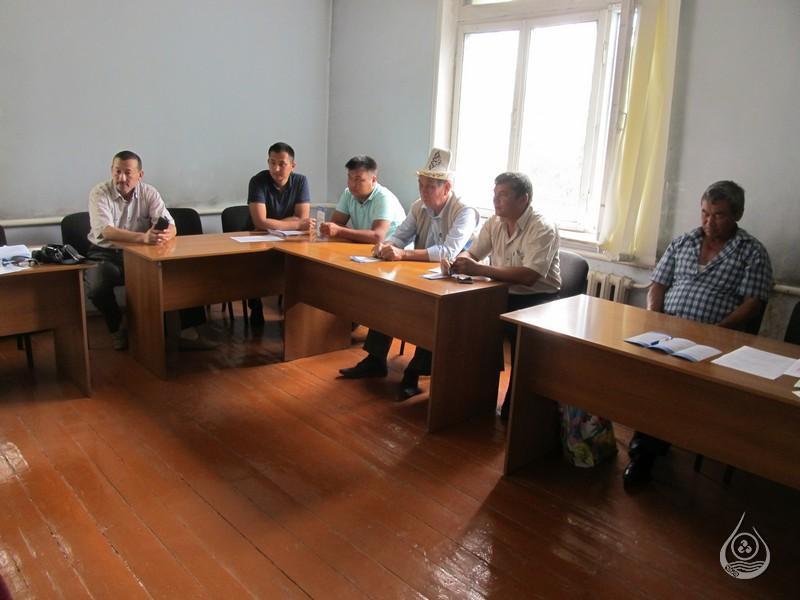 Рабочая встреча в Сузакском РУВХ | 18-21 июля 2016г.