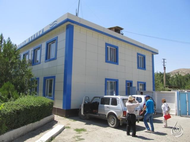 Административное  здание Кадамжайского РУВХ | 18-21 июля 2016г.