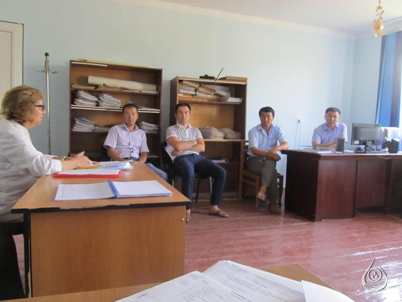 Рабочая встреча в Кадамжайском РУВХ | 18-21 июля 2016г.