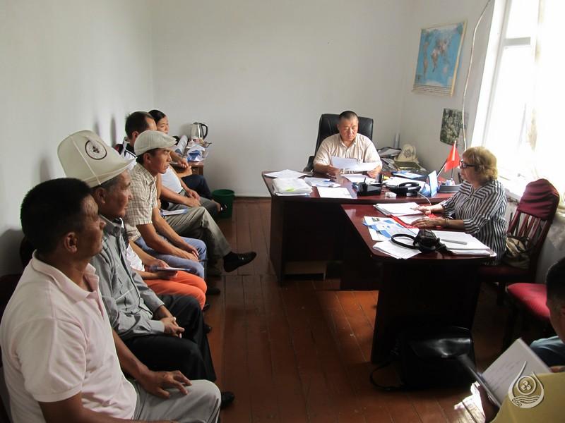Рабочая встреча в Баткенском БУВХ | 18-21 июля 2016г.
