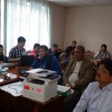 В ходе презентации групп