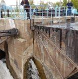 Верхний бьеф головного водозаборного сооружения БТК