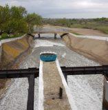 Нижний бьеф головного водозаборного сооружения БТК