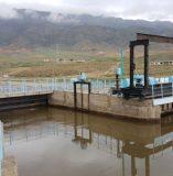 Общий вид головного водозаборного сооружения БТК