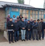 Члены миссии и ОРП с сотрудниками БТК